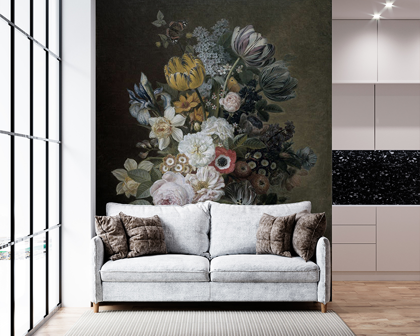 MultiTexPro - Groene bloemen