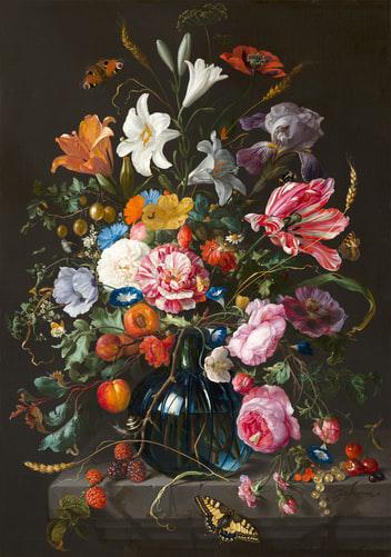 Afbeelding smartwallsolutions bloemen