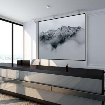 Akoestisch paneel | Foggy Mountains