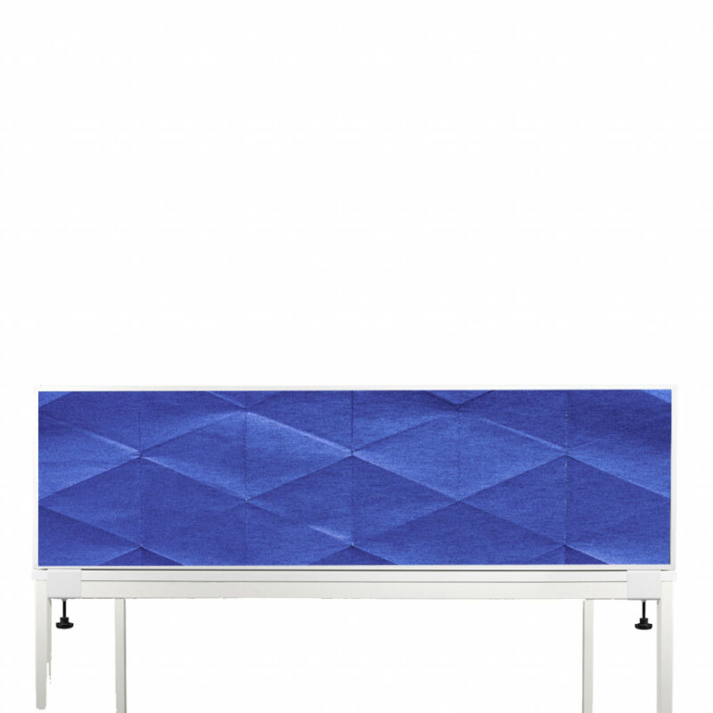 Akoestische Deskdividers | Blauw