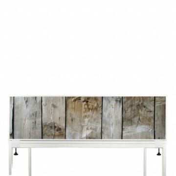 Akoestische Deskdividers | Houten planken
