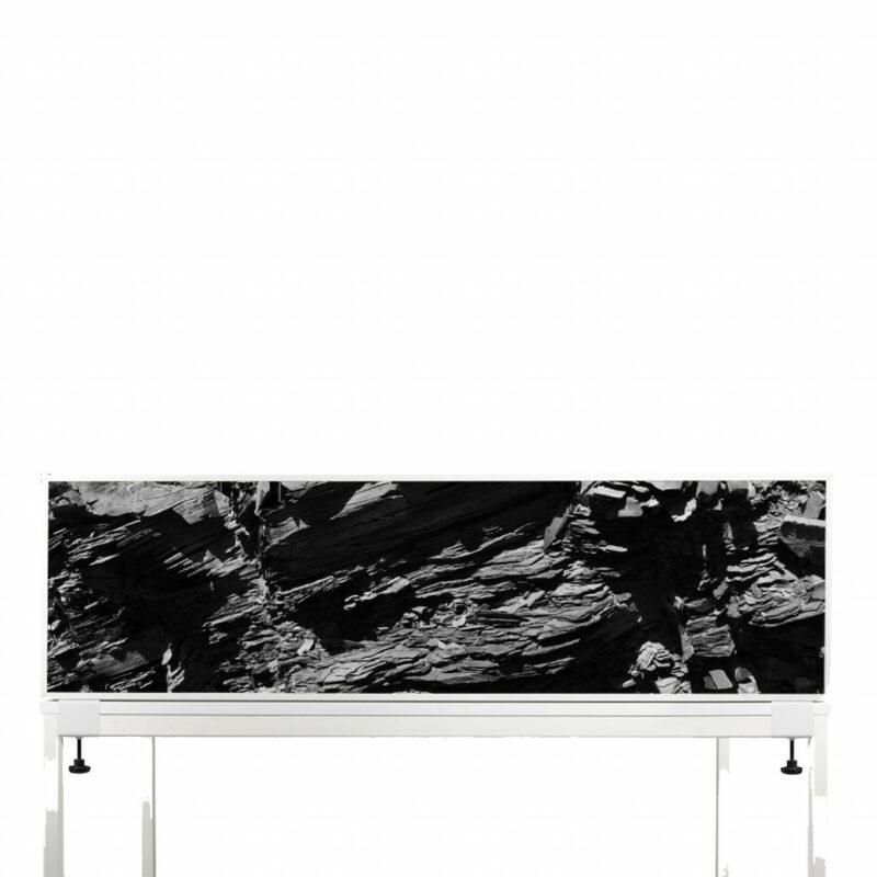 Akoestische Deskdividers   Zwarte Stenen