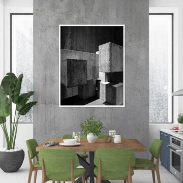 Akoestisch paneel | Black art