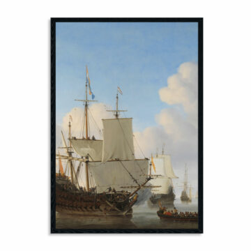 Akoestisch-paneel-Hollandse-schepen-op-een-kalme-zee,-Willem-van-de-Velde-(II),-ca.-1665.jpg