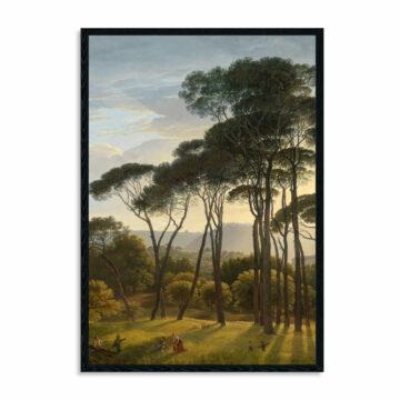 Akoestisch-paneel-Italiaans-landschap-met-parasoldennen,-Hendrik-Voogd,-1807.jpg