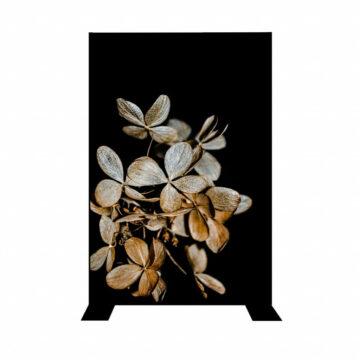 Divider | Black flower