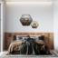 hexagons op slaapkamer